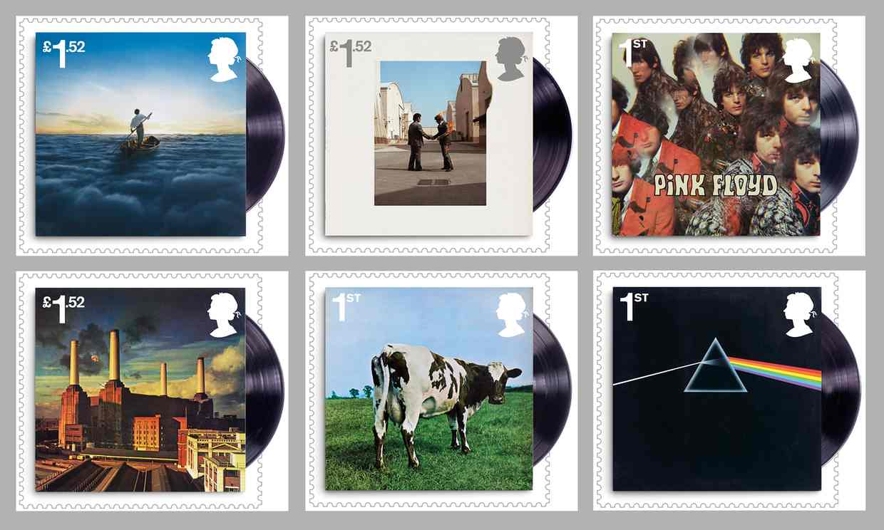 New set of stamps to honour Pink Floyd. (in pictures)
