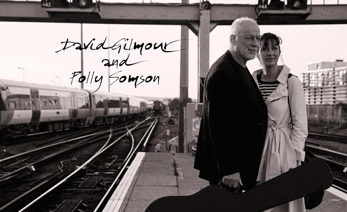 David Gilmour and His Lovely Wife Polly Samson (in pictures)
