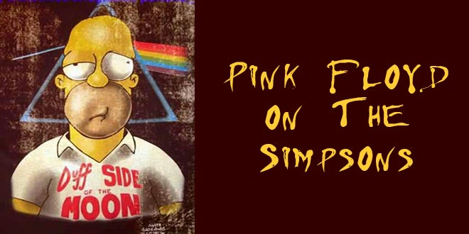 Pink Floyd References on The Simpsons