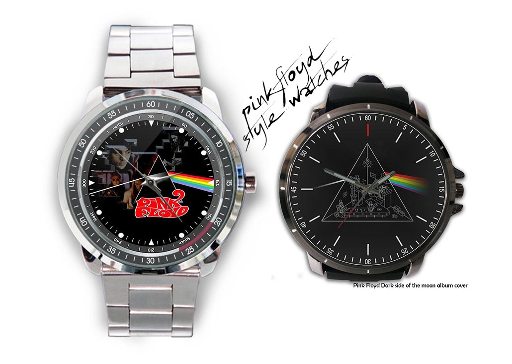 Cool Watches With Pink Floyd Design