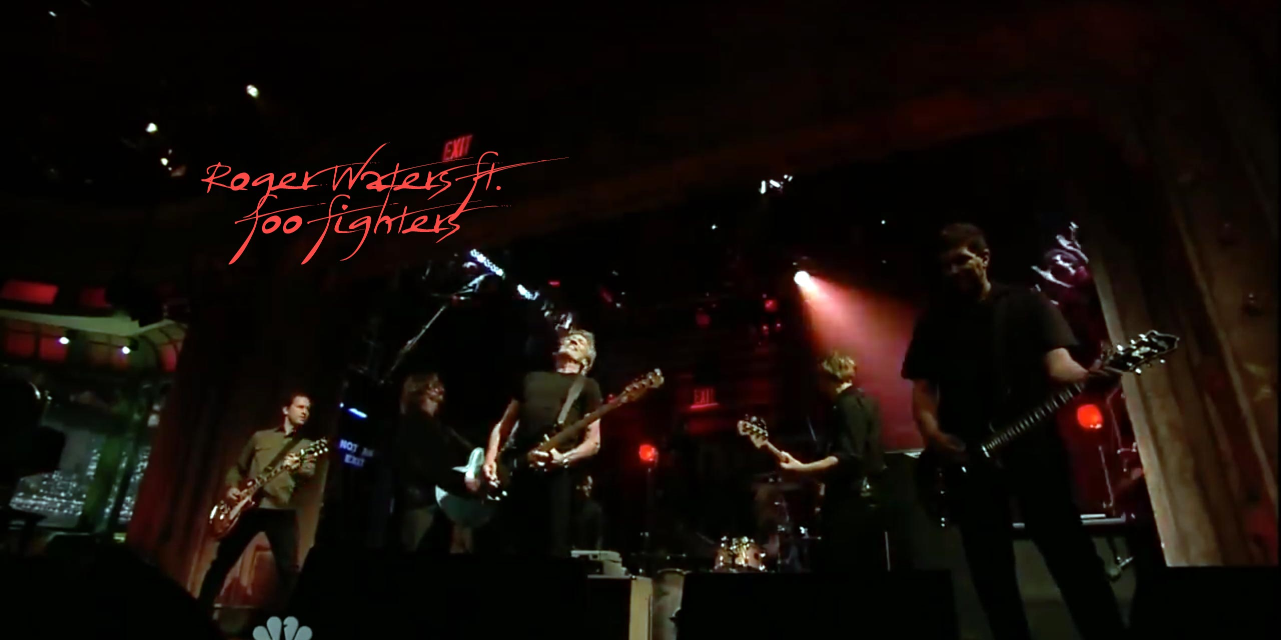 Watch: Roger Waters ft. Foo Fighters (In The Flesh)