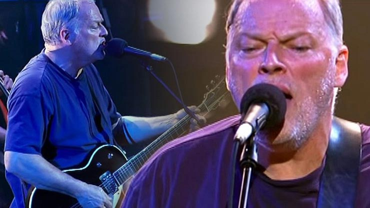 """David Gilmour's """"Shine On You Crazy Diamond,"""" And It'll Leave You Misty Eyed Performances"""