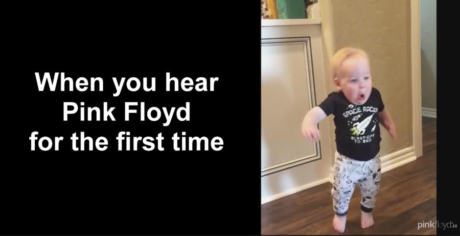 When You Hear Pink Floyd First Time :)