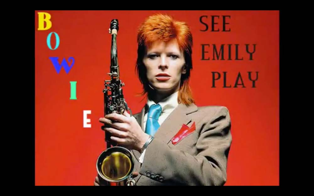 David Bowie – See Emily Play (Pink Floyd Cover)