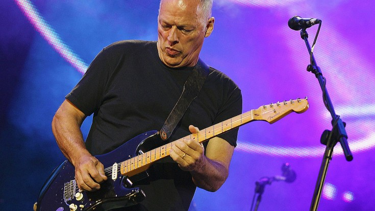 David Gilmour Brings THIS 'Dark Side Of The Moon' Classic To Center Stage On Sold Out World Tour