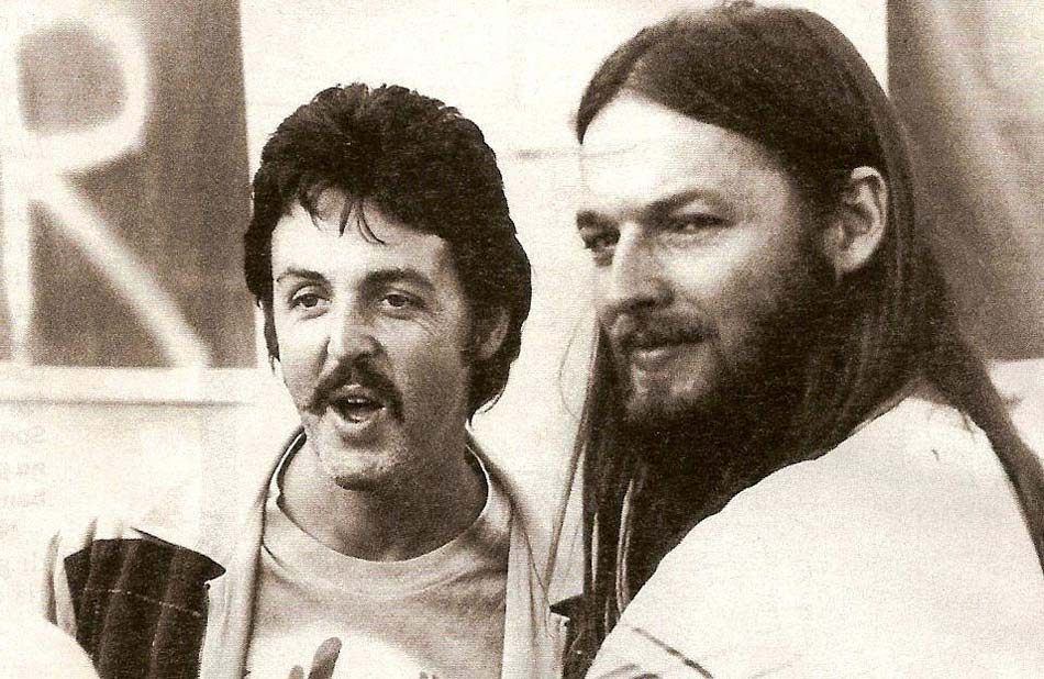 David Gilmour And Paul McCartney Are Singing Together