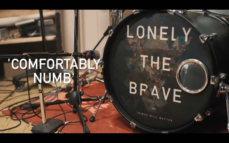 Lonely The Brave share Pink Floyd's Comfortably Numb Cover From New EP