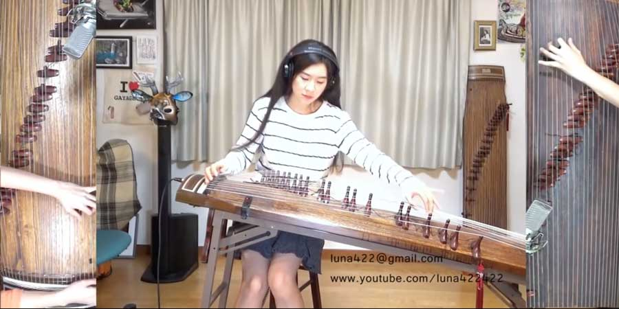 """Watch Her """"Another Brick In The Wall"""" Gayageum Cover – It Is Amazing"""
