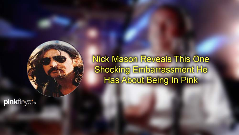 Nick Mason Reveals This One Surprising Embarrassment He Has About Being In Pink Floyd!