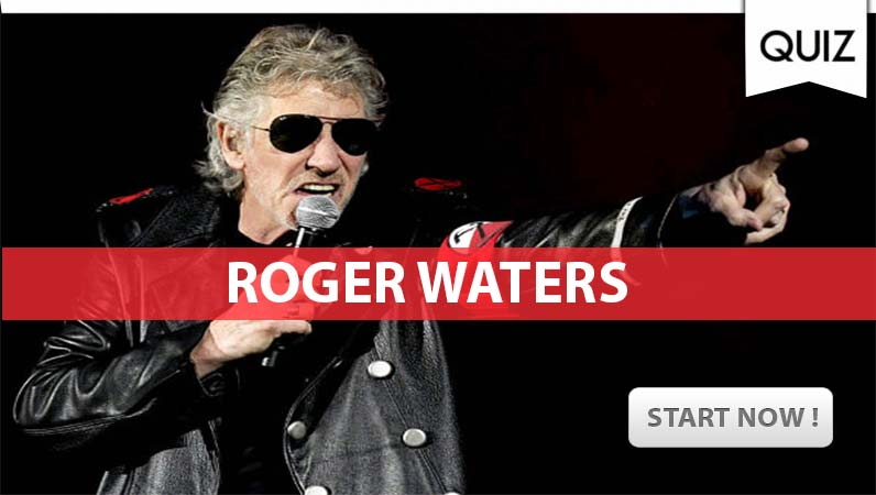 """Roger Waters Quiz: """"how well do you know the former Pink Floyd bassist?"""