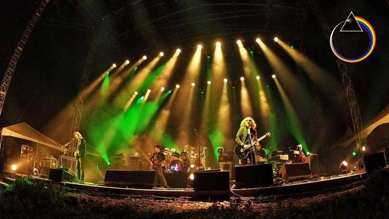 My Morning Jacket Works Pink Floyd Cover Into Second Show In Mexico