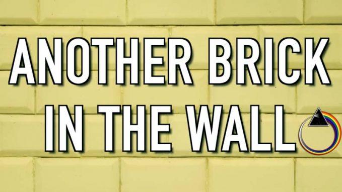 Modern Pink Floyd The Wall Cover Art Festooning - Wall Art ...