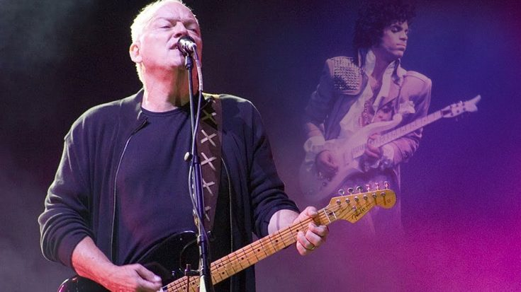 Watch, Gilmour Lets His Guitar Do The Speaking In Our All Time Favorite Tribute To Prince