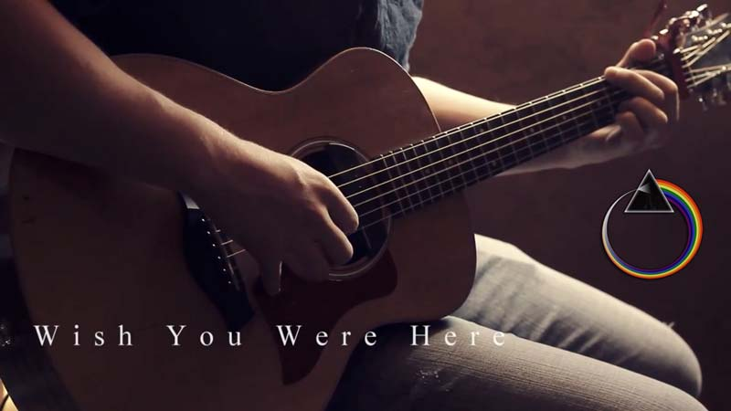 "This Acoustic ""Wish You Were Here"" Cover Will Send Chills Down Your Spine"