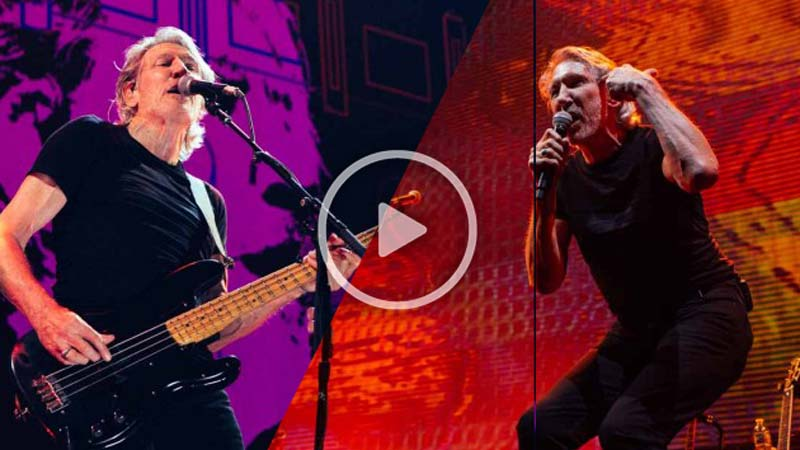 "Watch 6 New Amazing Live Performance Videos From Roger Waters' Latest  ″Us + Them"" Show (Kansas, May 26)"