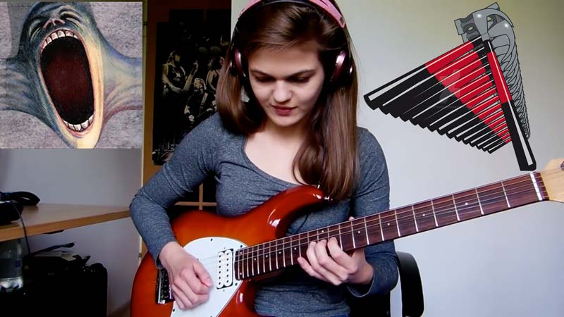 "Watch Amazing Cover Of ""Another Brick In The Wall"" by Sylwia Urban"