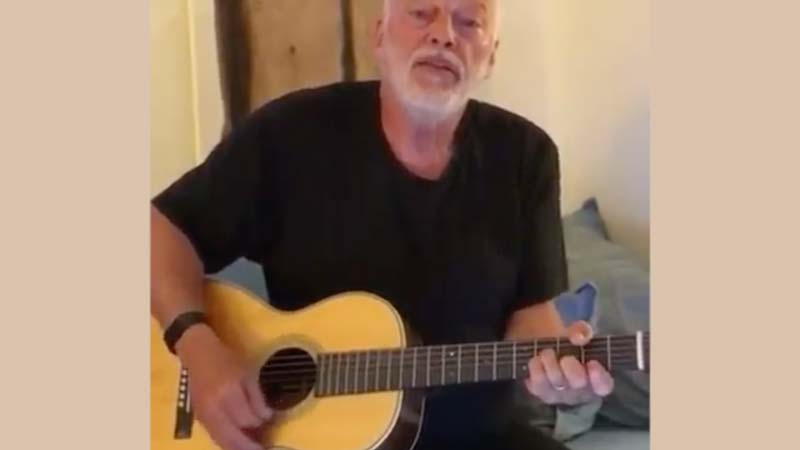 Polly Samson Just Relead A New Acoustic Performance Video of DAVID GILMOUR