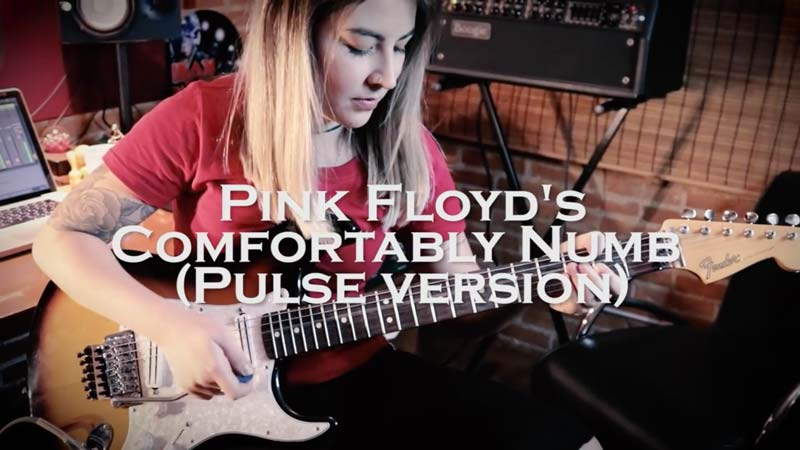 Watch: This Girl Plays 'Comfortably Numb' Exactly Like David Gilmour